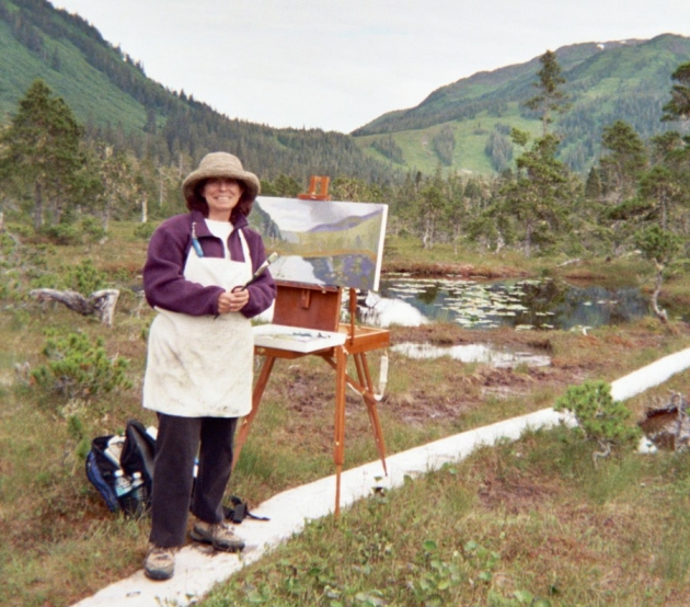 Marsha-Connell-Painting-Juneau-AK