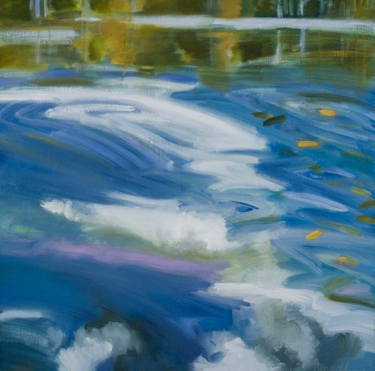 "Marsha-Connell-Sky in the Water 2-oil-24x24""- 2007"