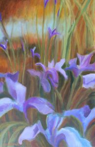 The painting I've featured for my catalog image can be seen now at the Art Trails Gallery at Corrick's. It will return home for Open Studios, October 11 & 12, 18 & 19. Corrick's is open M-F 10-5:30 and there will be two Art Trails parties, First Fridays in September and October, 5-7. Join us!