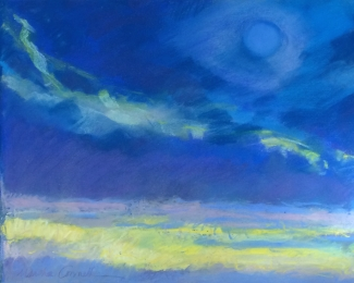 Marsha Connell_Blue Moon_pastel_16x20""