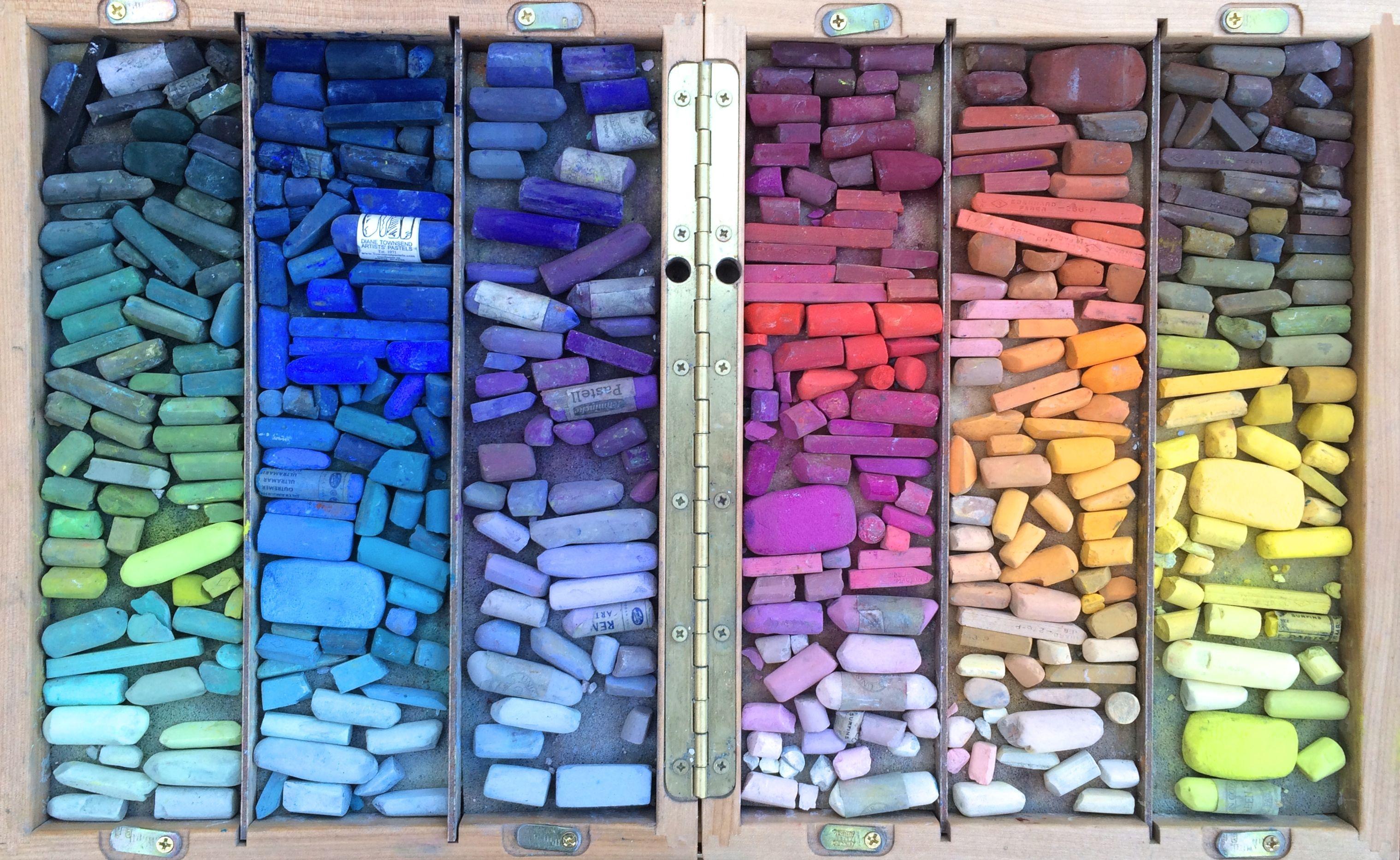 My plein air pastel box