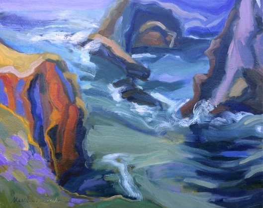 "Marsha-Connell_Headlands Passage_Oil_16X20""_2015"
